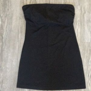 Wet seal strapless top